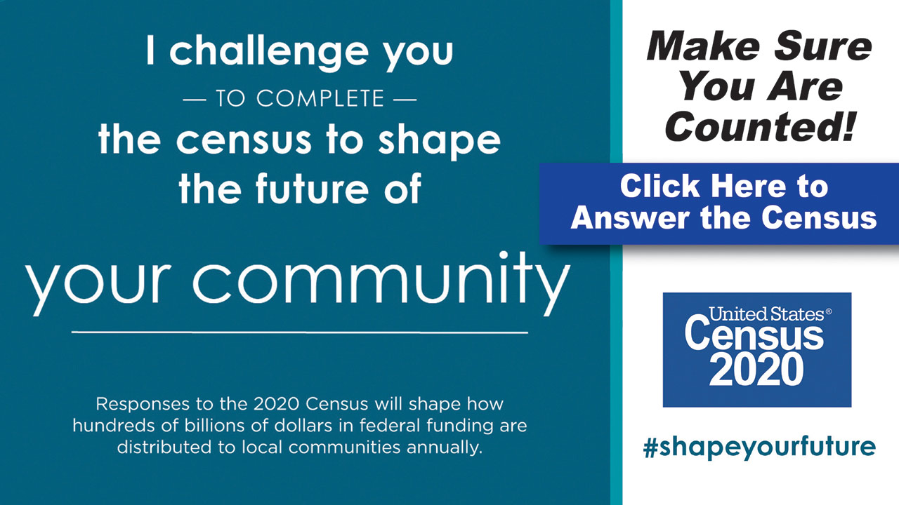 Remember to complete the 2020 Census at Home