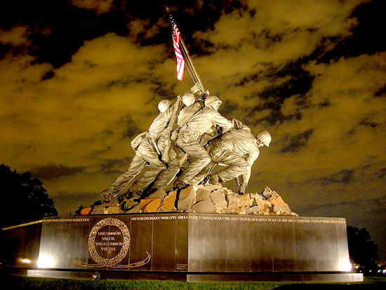 USMC Iwo Jima War Memorial