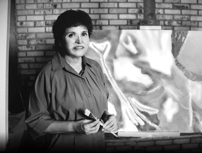 Juanita Salazar Lowe - First Art Instructor at IVC