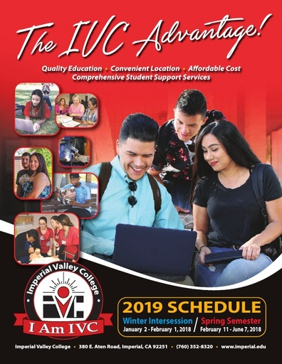 2019-01-02 - Full IVC Winter/Spring Schedule