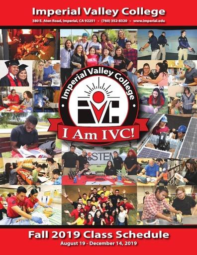2019-08-19 - IVC Fall Schedule