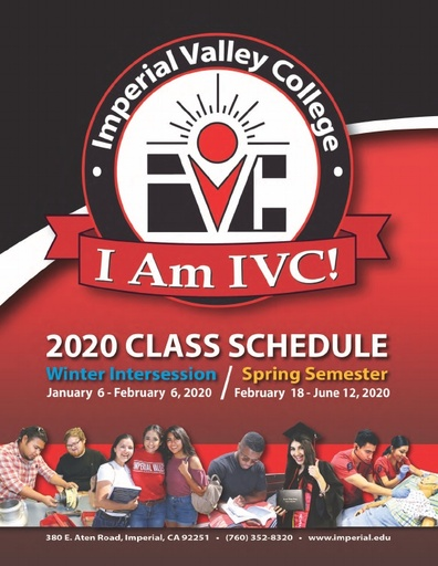 2020-01-06 - Full IVC Winter/Spring Schedule