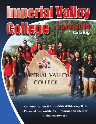 2013-2014 IVC Catalog