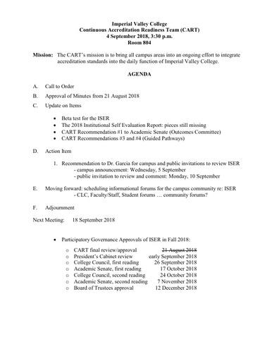 Agenda CART 2018 09 04