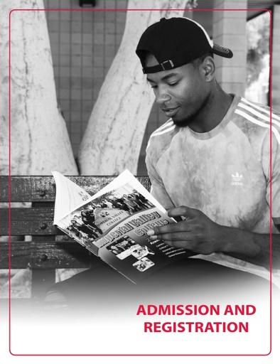 2018-2019 Catalog - Part 02 - Admission and Registration