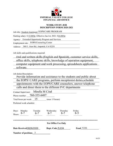 2020-21 SAP Petition Form