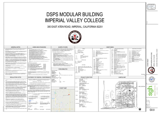 Bid No. 20-21-12 DSPS Modular Building - Plan Drawings